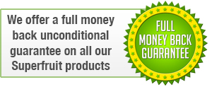 Full money back guarantee on all of our fat burning products