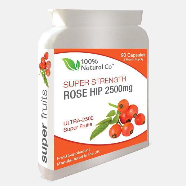rose hip pills to help with arthritis and joint health