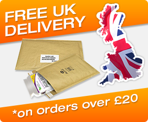 free UK delivery on order over £20
